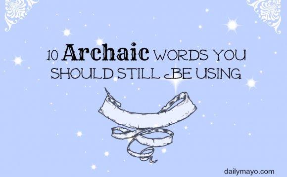 ARCHAIC dictionary