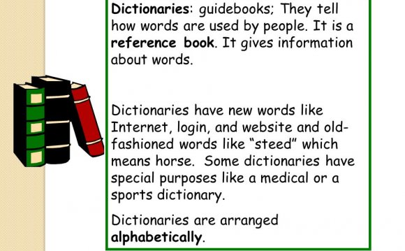 Dictionaries have new words
