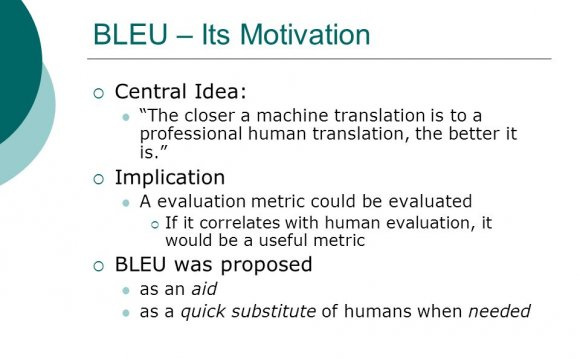 Machine translation is to