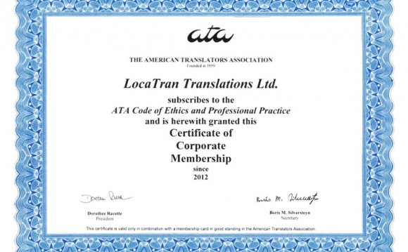 Translators Associations