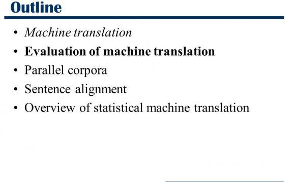 translations machine