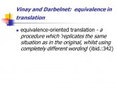 Translation equivalence