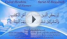 98. Surat Al-Bayyinah with English Language Translation