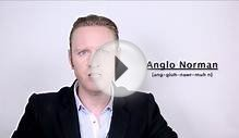 Anglo Norman - Meaning | Pronunciation || Word Wor(l)d