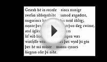 Beowulf Reading in Old English.wmv