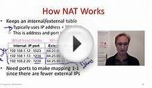 Computer Networks 4-10: Network Address Translation (NAT)