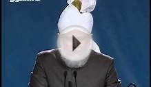 English Translation: Jalsa Salana UK 2010, Opening Address
