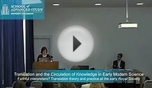 Faithful interpreters? Translation theory and practice at
