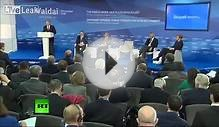 [Full Video - English Translation] Vladimir Putin at