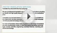 Get Professional Document Translation Services