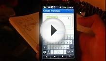 Google Translate - test trybu Conversation Mode w