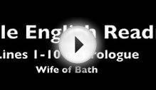 Middle English vs. Modern Translation - Wife of Bath