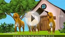 Old MacDonald Had A Farm - 3D Animation English Nursery