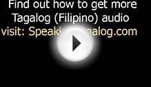 Tagalog translation - words for family translated to English