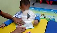 Three year old Aqeel reading Key Words with Peter and Jane.mp4
